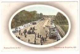 Brussel - Bruxelles - Exposition De Bruxelles 1910 - Avenue Emile De Mot - Expositions Universelles