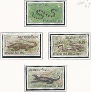 LAOS Scott 156-159 Yvert 167-170 (4) ** Cote 12,00$ - Laos