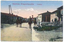 Cpa Nonhigny - Westlicher Kriegsschauplatz ( Soldats, Guerre ) - France
