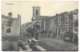 Cpa Hattonville  ( Soldats, Guerre, Feldpost ) - France