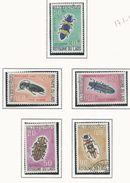 LAOS Scott 171-173, C54-C54 Yvert 182-184, PA54-PA55 (5) ** Et O Cote 8,40$ - Laos