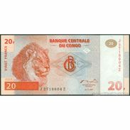 TWN - CONGO DEM. REP. 88A - 20 Francs 1.11.1997 Replacement J-Z (HdM) UNC - Congo