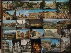 Lot D'environ 304 Cartes Postales D'Allemagne Années 1960 - 70 Neuve - Villes Villages Chateau Musée .... - Lots En Vrac
