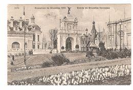 Brussel / Bruxelles - Exposition De Bruxelles 1910 - Entrée De Bruxelles Kermesse - Expositions Universelles