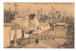 Brussel / Bruxelles - Exposition De Bruxelles 1910 - Entrée Du Village Sénégalais - Expositions Universelles