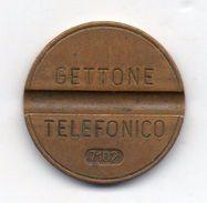 Italia - 1971 - Gettone Telefonico SIP SENZA ZECCA -  Nr. 7102 - (FDC6258) - Professionals/Firms