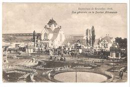 Brussel / Bruxelles - Exposition De Bruxelles 1910 - Vue Générale De La Section Allemande - Sans éditeur - Expositions Universelles