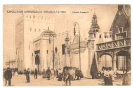 Brussel / Bruxelles - Exposition Universelle De Bruxelles 1910 - Pavillon Espagnol - Geanimeerd / Animée - Expositions Universelles