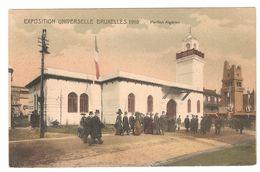Brussel / Bruxelles - Exposition Universelle De Bruxelles 1910 - Pavillon Algérien - Expositions Universelles