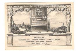 Brussel / Bruxelles - Exposition Universelle Bruxelles 1910 - Violina - Ludwig Hupfeld A.G. Leipzig - Deutsche Abteilung - Wereldtentoonstellingen