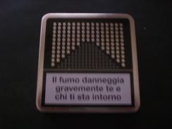 BOX CIGARETTE SIGARETTE MARLBORO DA COLLEZIONE EDIZIONE LIMITATA RARO !! METALLICO - Empty Cigarettes Boxes