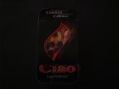 BOX METALLICO CON ACCENDINO DYLAN DOG  DA COLLEZIONE EDIZIONE LIMITATA RARO !! - Empty Cigarettes Boxes