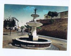 POFI ( FROSINONE ) PIAZZA V. EMANUELE - EDIZ. PACIONI - 1956 ( 1382 ) - Frosinone