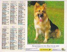 Almanach Du Facteur OLLER  Calendrier  LA POSTE 1997  60 OISE - Big : 1991-00