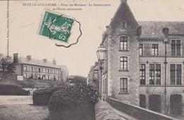 La Gendarmerie, école Communale - Sille Le Guillaume