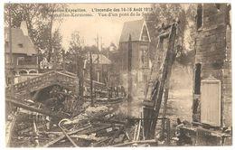 Brussel - Bruxelles-Exposition - L'incendie Des 14-15 Août 1910 - Bruxelles-Kermesse - Vue D'un Pont De La Senne - Expositions Universelles