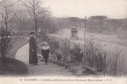 Colombes - Le Jardin Public (Louis Fermé) - Boulevard Edgar-Quinet - P.F. N° 48 - Colombes