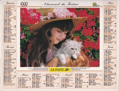 Almanach Du Facteur OLLER  Calendrier  LA POSTE 1999  60 OISE - Big : 1991-00