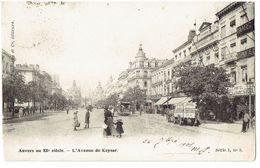 ANVERS Au XXe Siècle - L'Avenue De Keyser - Uitg. Tobidnsky Et Cie Série 1 N° 5 - Grobbendonk