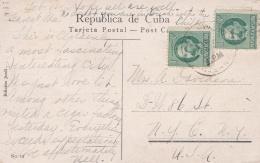 CUBA :  175 X 2 Sur Carte Postale De Récolte De La Canne à Sucre - Cuba