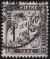 France   .   Yvert    .      Taxe      10        .        O       .        Oblitéré - Postage Due