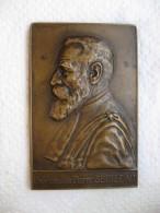 Médaille Professeur P. SEBILEAU  Oto-rhino-laryngologiste, Paris 1926 Par DE HERAIN - France
