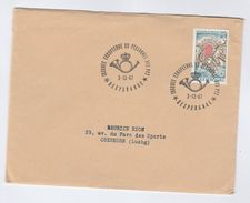 1967 LUXEMBOURG COVER Stamps TREATY OF LONDON MAP With EVENT Pmk EUROPEAN POST PERSONNEL - Luxembourg