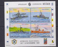 Uuruguay 1994 Armada Nacional M/s ** Mnh (37138G) - Uruguay