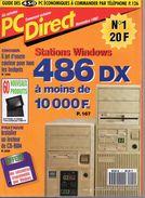 PC Direct, N°1 , Novembre 1992 - Informatique