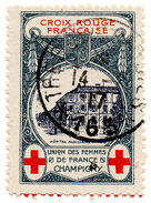 (I.B) France Cinderella : Great War Red Cross Charity (Champigny) - Europe (Other)
