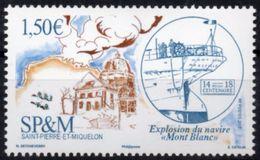 St Pierre Et Miquelon 2017 - Explosion Du Navire Mont-Blanc - 1 Val Neufs // Mnh - St.Pedro Y Miquelon