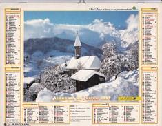 Almanach Du Facteur  1989   OLLER  Calendrier  02 Aisne - Big : 1981-90