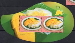 THAÏLANDE 2015 - Cuisine Thaï, 50e Ann Des Relations Avec Singapore - BF Neufs // Mnh - Thailand