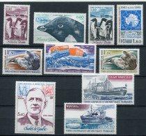 5511  - TERRES AUSTRALES ET ANTARCTIQUES FRANCAISES   N°86/91**PA 61/4** Année Complète 1980  SUPERBE - Terres Australes Et Antarctiques Françaises (TAAF)
