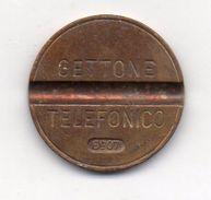Italia - 1969 - Gettone Telefonico SIP SENZA ZECCA -  Nr. 6907 - (FDC6259) - Professionals/Firms