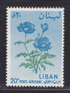 LIBAN AERIENS N°  298 ** MNH Neuf Sans Charnière, Fleurs, TB  (D0379) - Liban