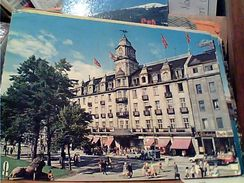 NORGE NORWAY OSLO GRAND HOTEL AUTO CAR  VB1973  GJ18253 - Norvegia