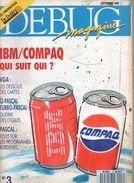 Debug Magazine N°3, Septembre 1989 - Informatique