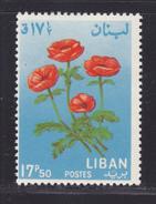 LIBAN N°  242 ** MNH Neuf Sans Charnière, Fleurs, TB  (D0381) - Liban