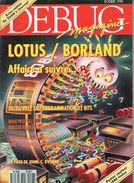 Debug Magazine N°7, Octobre 1990 - Informatique