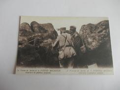 COPIE Guerre 14-18 Le Prince De Serbie Et Le Voivod Michitch Probable Copie - Oorlog 1914-18