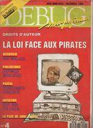 Debug Magazine N°4, Décembre 1989 - Informatique