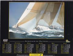 Almanach Du Facteur 1999   OLLER  Calendrier  02 Aisne - Big : 1991-00