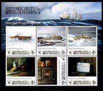 ROSS Dependency 2017 - Cabanes Historiques De Ross, Antarctique - BF Neufs // Mnh - Neufs