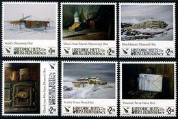 ROSS Dependency 2017 - Cabanes Historiques De Ross, Antarctique - 6 Val Neufs // Mnh - Neufs