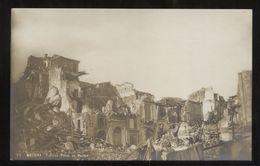 MESSINA - TERREMOTO DEL 1908 - PALAZZO PULEO AL DUOMO (1) - Catastrophes