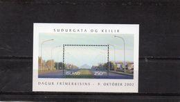 ISLANDE 2002 ** - Blocs-feuillets