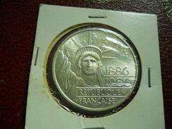100 FRANCOS 1986 -SILVER - Conmemorativos