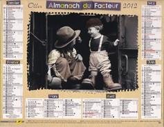 Almanach Du Facteur 2012   OLLER  Calendrier  02 Aisne - Tamaño Grande : 2001-...