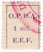 (I.B) Palestine Revenue : Ottoman Public Debt 1m (OPDA) - Palestine